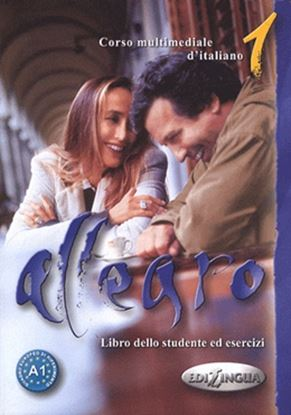 Imagem de ALLEGRO 1 - LIBRO DELLO STUDENTE ED ESERCIZI + CD