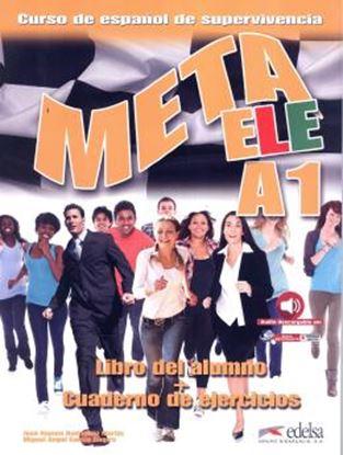 Imagem de META ELE A1 - LIBRO DEL ALUMNO + CUADERNO DE EJERCICIOS - NE