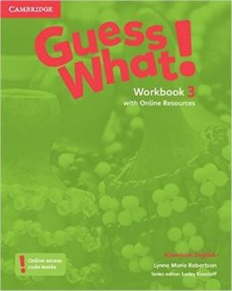 Imagem de GUESS WHAT! 3 WB WITH ONLINE RESOURCES - AMERICAN