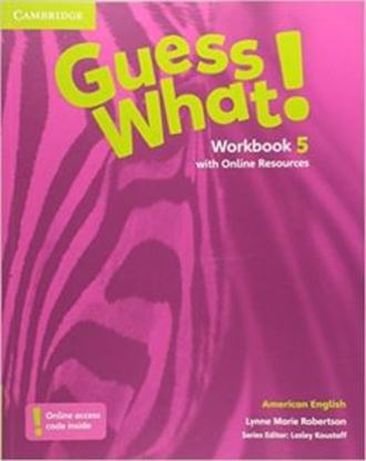 Imagem de GUESS WHAT! 5 WB WITH ONLINE RESOURCES - AMERICAN