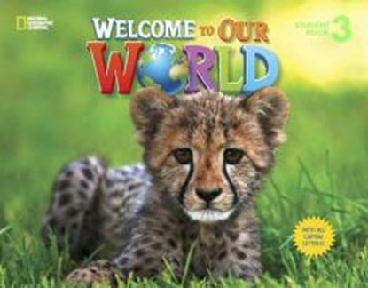 Imagem de WELCOME TO OUR WORLD 3 STUDENT´S BOOK WITH ALL CAPITAL LETTERS