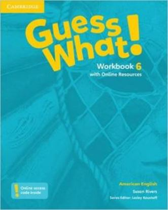 Imagem de GUESS WHAT! 6 WORKBOOK WITH ONLINE RESOURCES - AMERICAN