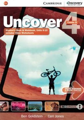 Imagem de UNCOVER 4B COMBO STUDENT´S BOOK WITH ONLINE WORKBOOK AND ONLINE PRACTICE - 1ST ED